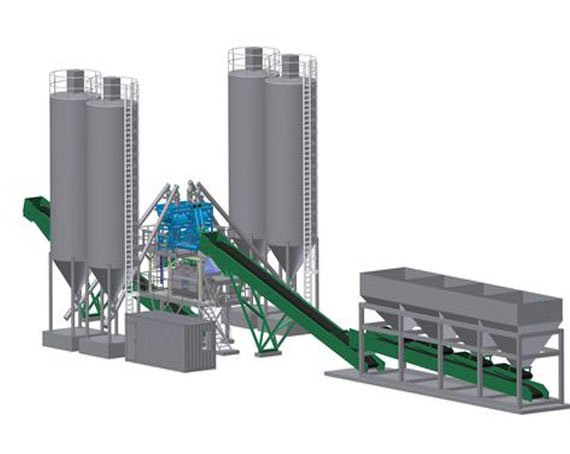 Batching Plants for making concrete