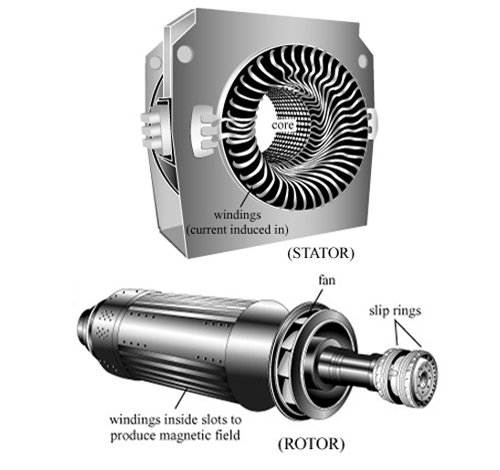 Motor Body and Rotor for the Supporting Industrial Machineries