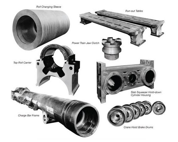 Rolling mills spare parts for the steel plants